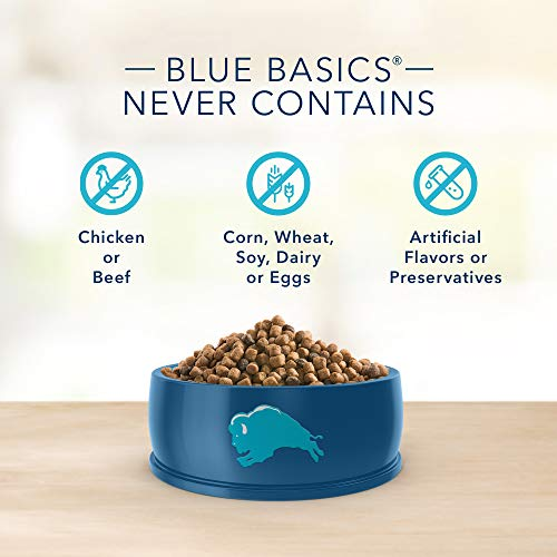 Blue Buffalo Basics Limited Ingredient Diet Grain Free, Natural Indoor Adult Dry Cat Food, Fish & Potato 11-lb