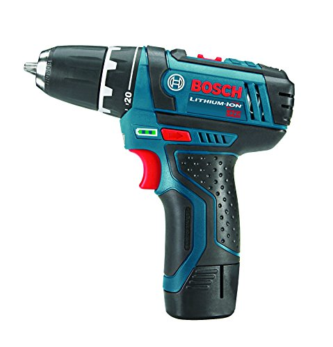 Bosch 12V 2-Speed Drill/Driver Kit and 12V Max LED Work Light w/ 2 Batteries, Charger and Case by Bosch (Image #1)