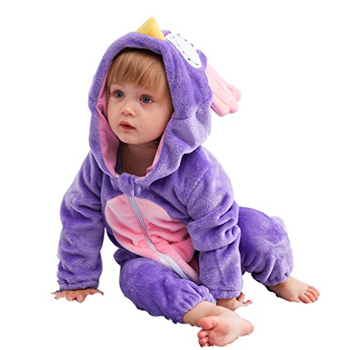 Unisex Kids Baby Owl Halloween Costumes Cartoon Outfit One Piece Homewear 70 -