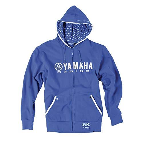 Factory Effex Yamaha Racing Zip Hoody (X-LARGE) (BLUE) ()