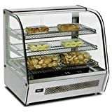 """27"""" Countertop Curved Glass Display Warmer 39535"""