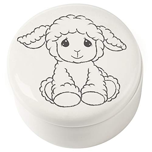 Precious Moments Child of God Baptism White 183431 Covered Box with Rosary One Size Multi 2 Each