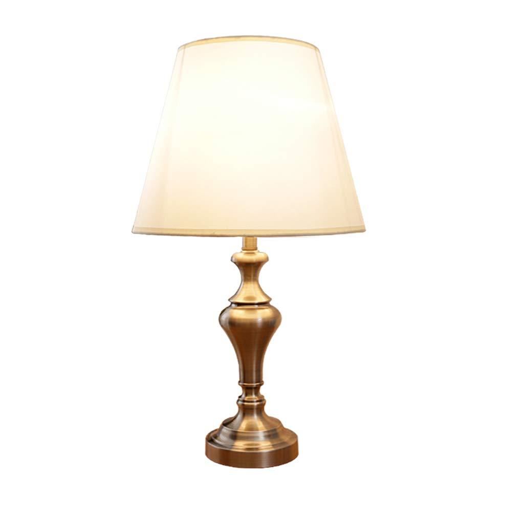 %Schreibtischlampen Tischlampe einfache kreative Retro Schmiedeeisen Schlafzimmer dekorative Nachttischlampe Tischleuchte (Farbe   Dimming switch)