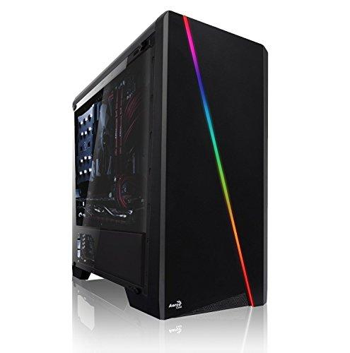 Memory Gaming PC AMD Ryzen 7 3800X 8X 3.9 GHz, AMD RX 570 8GB, 16 GB DDR4, 240GB SSD + 1000 GB HDD, Windows 10 Pro 64bit