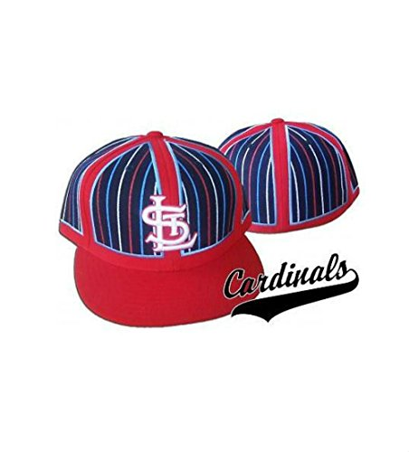 Genuine Merchandise St. Louis Cardinals Clown Fitted Size 7 5/8 Cooperstown Collection Hat Cap
