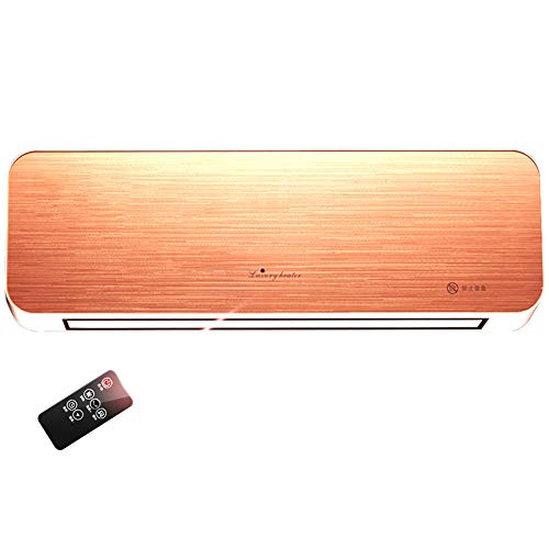 MAZHONG Space Heaters Wall-mounted Electric Heater, Hot-heating Fan, Heating And Cooling Dual-purpose Remote Control-3000W