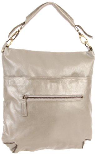 Latico Women's Francesca 7969 Hobo,Metallic Gray,One Size, Bags Central