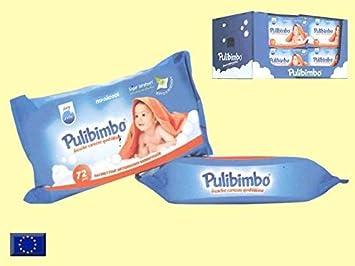 TOALLITAS BIMBO Conjunto de 6 conf. de 72 Unidades Pulibimbo: Amazon.es: Bebé