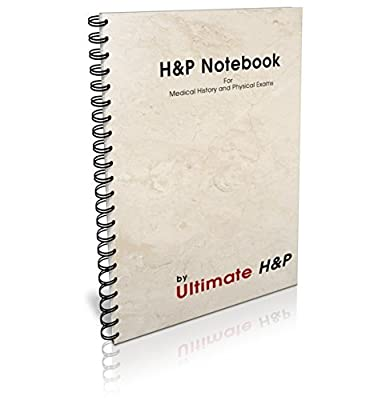 H&P Medical History and Physical Examination Daily Notebook, 100 templates