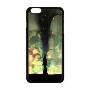 LJF phone case Creative Night Graffiti Custom Protective Hard Phone Cae For Iphone 6 Plus
