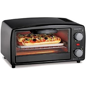 Amazon Com Hamilton Beach 31118 Four Slice Toaster Oven