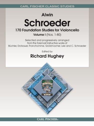 Alwin Schroeder-10 Foundation Studies for Violoncello