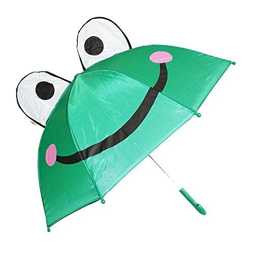 - Rhode Island Novelty 3D PopUp Frog Cute Umbrella, Green