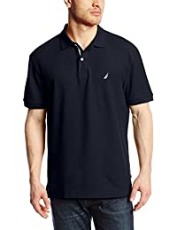 Mens S/S Solid Polo with Tape