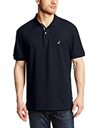 Nautica Men's Short-Sleeve Solid Deck Polo Shirt