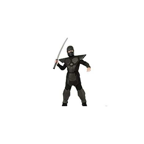 Amazon.com: Rubie s Masquerade UK Rubies Ninja Negro Niño ...