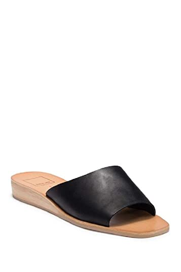 00db2d572 Image Unavailable. Image not available for. Color: Dolce Vita Women's Hildy Leather  Slide Sandals ...