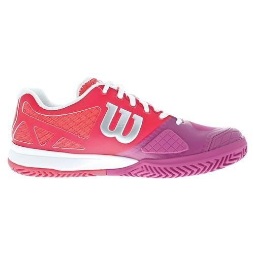 Wilson Women`s Jag Pro 2,0 Tennissko Neon Rød / Rosa