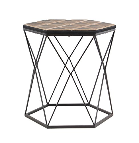 Deco 79 98748 Accent Table Brown/Gray by Deco 79 (Image #4)
