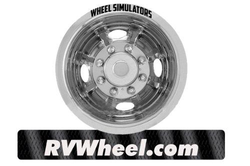 1985-1998 Ford F350 16'' Wheel Simulators Free UPS www.rvwheel.com