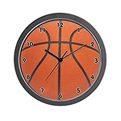 CafePress - Basketball Wall Clock - Unique Decorative 10 Wall Clock