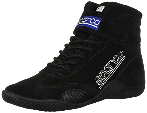 - Sparco 00127095N Race Black Size 9.5 Driving Shoe