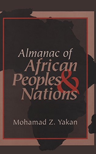 Almanac of African Peoples and Nations