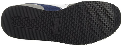 Diadora Malone - deportivas bajas Unisex adulto Azul (Blue Estate/grigio Ghiaccio)