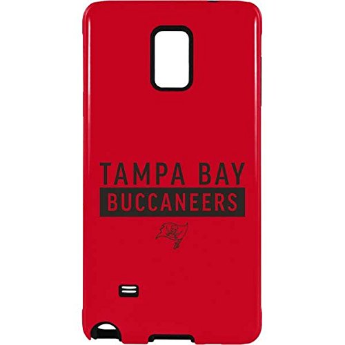(Skinit NFL Tampa Bay Buccaneers Galaxy Note 4 Pro Case - Tampa Bay Buccaneers Red Performance Series Design - High Gloss, Scratch Resistant Phone Cover)