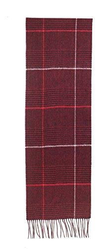 laine pour hommes cou echarpe prime qualite douce lumiere agneau chaud eepais 30x180 cm marron