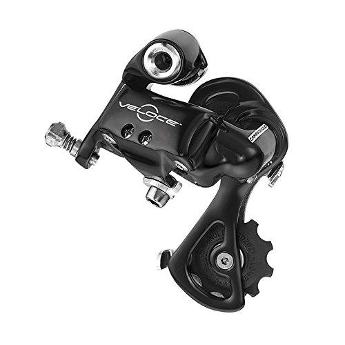 CAMPAGNOLO Veloce Schaltwerk 10-Fach Schwarz Ausführung Kurzer Käfig 2017 Mountainbike