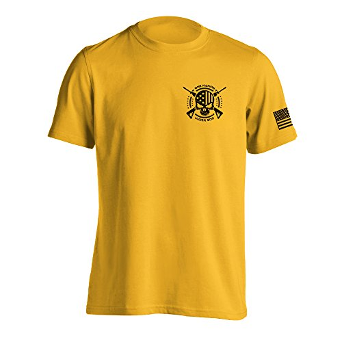 One Nation Under God Military T-Shirt XXX-Large Daisy - Military Yellow T-shirt