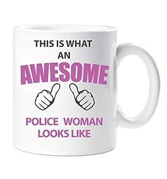 Tasse D Femme Ce De C'est Looks Awesome Police Cadeau Like Qu'un Mug nP8kX0wO
