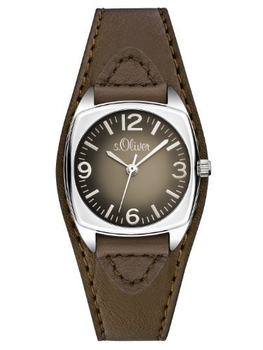 s.Oliver Women's Quartz Watch SO-2791-LQ with Leather Strap