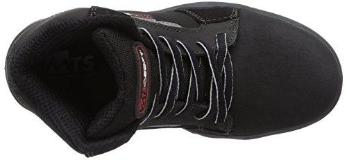 MTS Sicherheitsschuhe M-soft Vickers Flex S3 45811 - Calzado de protección Unisex adulto Schwarz