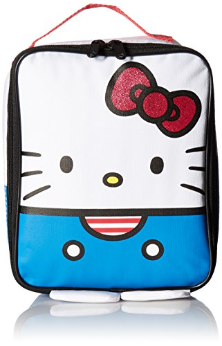 Hello Kitty Red/White and Blue Lunch Kit, Blue and White (Hello Kitty Blue)