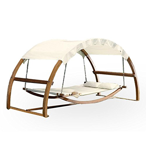 Garden Winds Arch Hammock Swing Replacement Canopy Top Cover (Hammock Stand Costco)