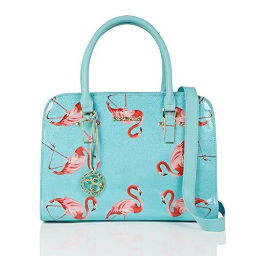 Cool Di Stile Nuovo Borsa A Fenicottero Donna amp; Spalla Messenger Modo Trendy Retro flamingo Mano Sacchetto Casuale Shagwear FpOBw