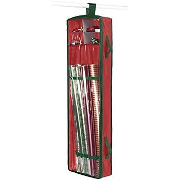 Amazon.com: Whitmor Hanging Gift Wrap Organizer: Home & Kitchen