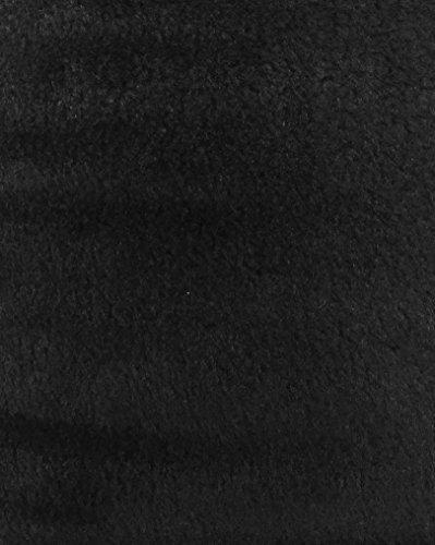 5 Yard Bolt Black Acrylic Felt Fabric