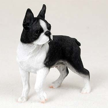 Figurine Terrier (Boston Terrier Figurine - Gift for Dog Lovers)