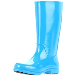 crocs Women's Wellie Rain Patent Boot