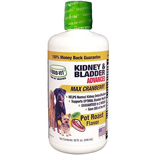 Liquid-Vet by COOL PET Holistics K9 Kidney & Bladder Advanced Formula, Pot Roast Flavor, 32 oz ()