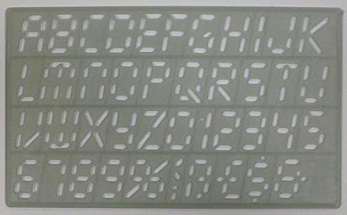 Normografo Wiler - N301/20 DIGITAL 20 mm