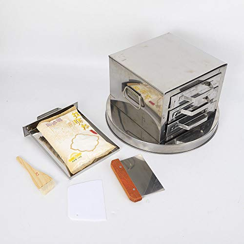 Kitchen Food Steaming Equipment Steamer Rice Noodle Roll Machine With 3-Drawers by TFCFL (Image #3)