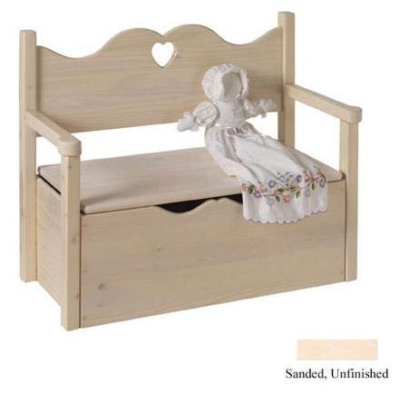 Bench Toy Box - UNFHT