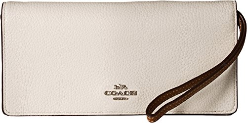 COACH Women's Color Block Slim Wallet Sv/Chalk Multi One Size by Coach