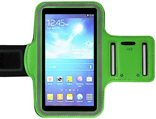 ADEL sportarmband microvezel telefoonhoes 5.5 inch compatibel met Huawei Y5 (2018) – groen