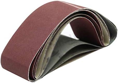 Banda abrasiva de /óxido de aluminio 120 100x915mm Yintiod grano 80//120//150//180//240//320//400//800