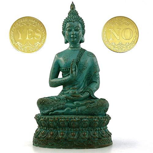 DBassinger Antique Buddha Statue for Home Decor,7